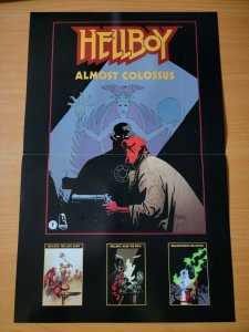 17 x 11 Hellboy Almost Colossus Comic Book Promo Poster NO PIN HOLES NEW
