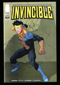 Invincible #75 VF/NM 9.0 1:50 Retailer Incentive Variant #1 Homage