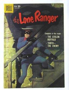 Lone Ranger (1948 series) #129, Fine (Actual scan)