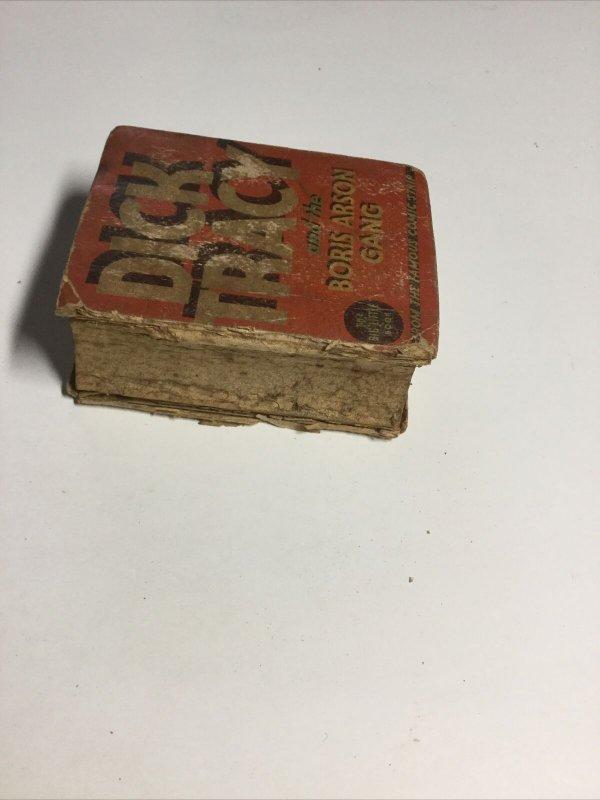 Dick Tracy And The Boris Arson Gang FR/Gd Fair/Good 1.5 Big Little Books