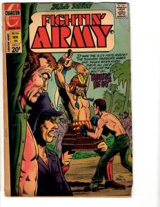 Lot Of 5 Fightin' Army Charlton Comic Books # 106 108 112 113 (2) Hirohito TP5