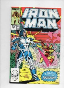IRON MAN #242, VF/NM Tony Stark, Mandarin, 1968 1989, more IM in store, Marvel