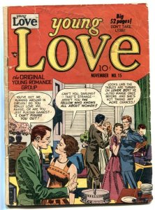 Young Love #15 1950- Simon & Kirby- Golden Age Romance G
