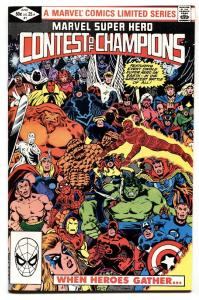 Marvel Super Hero Contest of Champions #1-1982-Comic Book-High Grade NM-