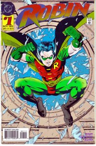Robin(vol. 1) # 1,8-9,14,56,100 Batman, Nightwing, Knights End, Prodigal, Troika