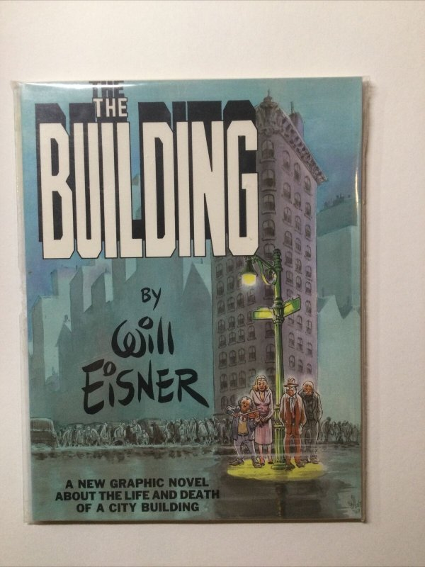 The Building Tpb Oversized Near Mint Nm softcover sc Will Eisner