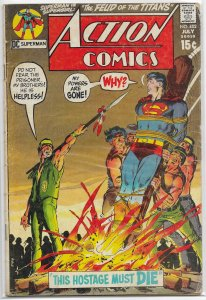 Action Comics   vol. 1   #402 GD