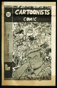 CARTOONISTS' COMIC #1-1954 RARE-FANZINE VG