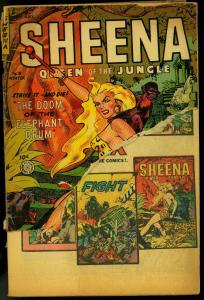 Sheena #18 1952-USED IN POP-Fiction House Jungle Comic FR