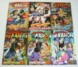 Adventures of Aaron #1-2 VF/NM complete series + vol. 2 #1-3 & 100 chiasmus set