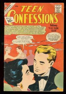 TEEN CONFESSION #16 1962-CHARLTON ROMANCE-LOVE TRIANGLE VG