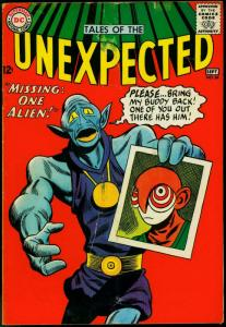 Tales Of The Unexpected #84 1964-DC Silver Age Sci-fi G