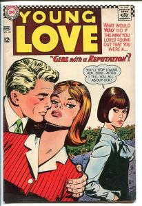 YOUNG LOVE #60-DC ROMANCE-GOOD ISSUE VG