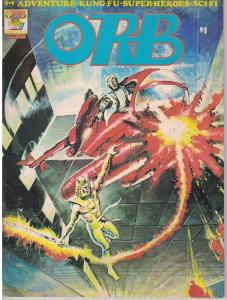 Orb #5 Adventure- Kung Fu- Superheroes- SCIFI Gene Day Peter HSU Art Cooper 1976