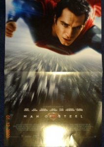 MAN OF STEEL Promo Poster, 11 x 17, 2014, DC Unused more in our store 448