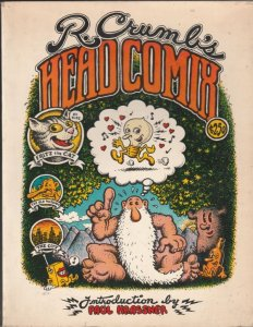 R.Crumb Head Comix #1 (Jan-68) VG/FN Affordable-Grade Mr.Natural, Fritz The Cat
