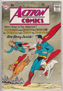 Action Comics #266 (Jul-60) VG- Affordable-Grade Superman, Supergirl