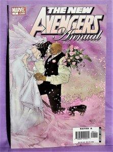 Brian Bendis NEW AVENGERS Annual #1 Luke Cage Jessica Jones Wed (Marvel, 2007)!