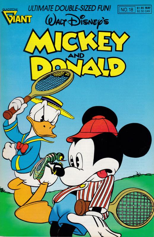 Walt Disney's Mickey & Donald May.1990 No.18 The House Mystery F/VF