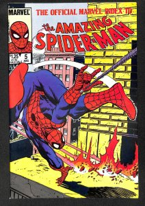 The Official Marvel Index to the Amazing Spider-Man #5 (1985)