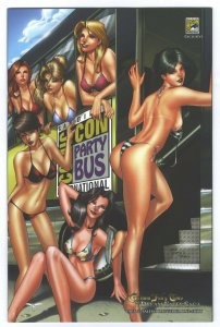 Grimm Fairy Tales Dream Eater Saga #6 - SDCC Party Bus 'Night' NICE & NAUGHTY.