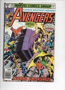 AVENGERS #193, VG+,  Captain America, Beast, 1963 1980, more Marvel in store
