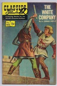 Classics Illustrated White Company #102 HRN 167 ORIGINAL Vintage Comic Book