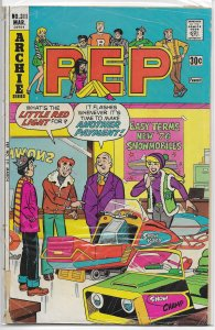Pep   #311 FR (Archie, 1976) snowmobile cover