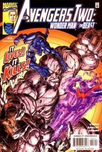 Avengers Two: Wonder Man & Beast #3, NM (Stock photo)