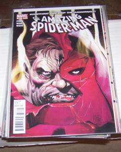 Amazing Spider-Man # 627 the   juggernaut  captain unniverse    high grade