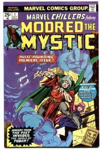 MARVEL CHILLERS #1-MODRED THE MYSTIC-1975-MARVEL-BRONZE