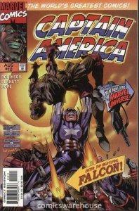 CAPTAIN AMERICA (1996 MARVEL) #10 NM