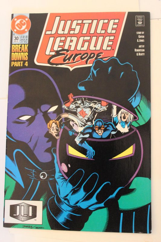 Justice League Europe  #30  9-4-nm