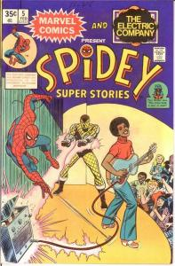 SPIDEY SUPER STORIES 5 VF-NM Feb. 1975 Vulture COMICS BOOK