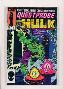 Marvel Questprobe Ft. THE HULK #1 VF/NM (SRU318)