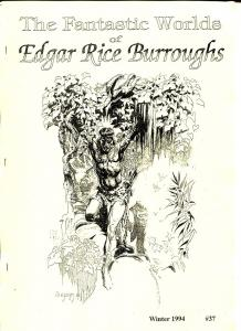 Fantastic Worlds of Edgar Rice Burroughs #37 1994-British fanzine-Cawthorne-FN
