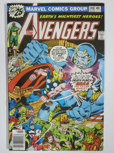 AVENGERS 149 F-VF July 1976 COMICS BOOK