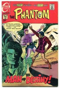 THE PHANTOM #48 1971-CHARLTON COMICS-WILD JUNGLE COVER VG/FN