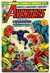 Avengers #161 (7.0) 1975 THE SQUADRON SUPREME! Ant-Man Appearance Marvel ID01G
