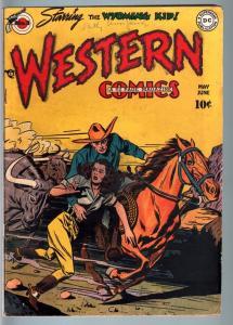 WESTERN #3-DC-GOLDEN AGE WESTERN COMIC-VG/FN-WYOMING KID VG/FN