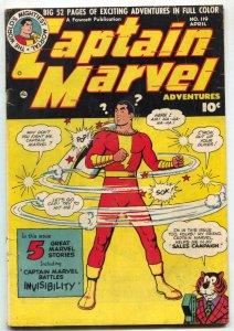 Captain Marvel Adventures #119 1951- Fawcett -Mr Tawny VG+