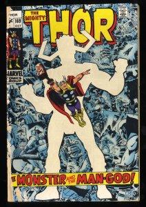 Thor #169 GD/VG 3.0 Origin of Galactus!