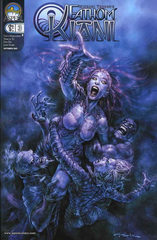 Fathom: Kiani (Michael Turner's…) #3B VF/NM; Aspen | save on shipping - details