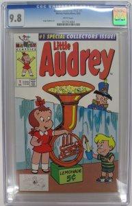 Little Audrey Volume 2 #1 CGC 9.8 NM/MT ~ Harvey Publications 1992