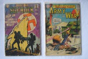 Our Army at War. 149,199 Two books