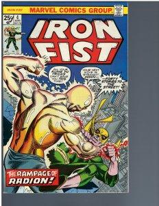 Iron Fist #4 (1976)