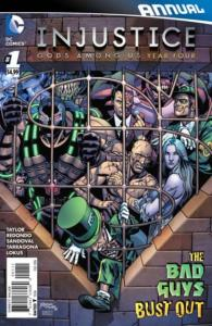 Injustice: Gods Among Us: Year Four Annual #1, NM- (Stock photo)