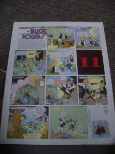 BUCK ROGERS #11-ITALIAN SUNDAY STRIP REPRINTS-CALKINS FN