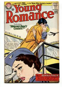 YOUNG ROMANCE #131 1964-DC ROMANCE-Bonnie Taylor-FN+