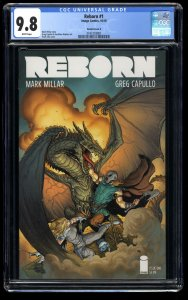 Reborn #1 CGC NM/M 9.8 White Pages Cover E Variant!